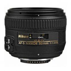 Lente Nikon 50mm 1.4 G