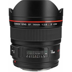 Lente Canon 14mm f/2.8L II USM