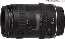 Lente Canon EF 135mm f/2.8 Softfocus