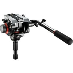 Cabeça Manfrotto 504HD c/ Ball 75mm c/ Plate 504 PLONG 1/4 suporta 12KG