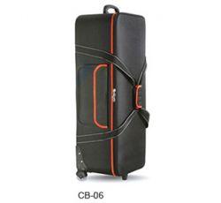 Bolsa Greika CB-06 - Rígida Estruturada c/ Rodas p/ kit de iluminação