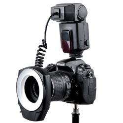 Ring Flash Macro Greika/Godox ML 150 p/ Cameras DSLR Universal