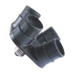 Soquete Greika E27 Quadriplicador p/ Iluminador