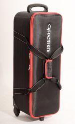 Bolsa Greika CB-04 Rigida Estruturada c/ rodas p/ Kit de Iluminação