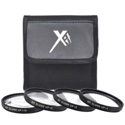 Kit de filtros Close-UP 58mm c/ 4 Filtros |+1 +2 +4 +10|marca XIT!