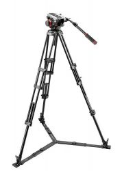 Tripé Manfrotto 546GB c/ Cabeça 504HD - Suporta 7,5 Kg C/ Bag Inclusa
