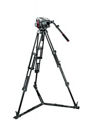 Tripé Manfrotto 545GB c/ Cabeça 509HD - Inclusa BAG - Suporta 13,5 Kg