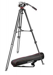 Tripé Manfrotto MVK502AM-1 c/ Cabeça MVH502AH - Incluso BAG - Suporta 7 Kg