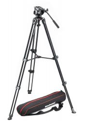 Tripé Manfrotto MVT502AM c/ Cabeça MVH500AH - Inclusa BAG - Suporta 5 Kg