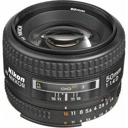 Lente Nikon 50mm 1.4 D