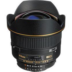 Lente Nikon 14mm 2.8 AF Nikkor D ED