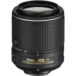 Lente Nikon 55-200mm 4-5.6 G ED VR II