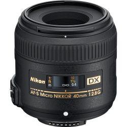Lente Nikon 40mm 2.8 Micro G