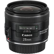 Lente Canon 28mm f/2.8 IS USM