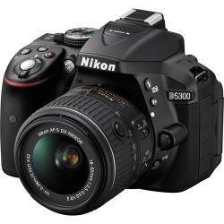 Câmera Nikon D5300 c/ Lente 18-55mm VR