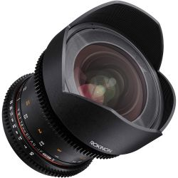 Lente Rokinon 14mm T3.1 Cine ED AS IF p/ Canon EF