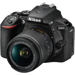 Nikon D5600 24,2MP Vídeo Full HD Wi-Fi lente Nikon DX 18-55mm AF-P