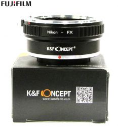 Adaptador K&f Concept De Lente Nikon Para Montagem Fujifilm