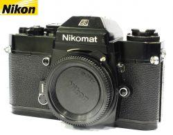 Câmera Nikomat EL Black Reflex 35mm Nikon Analógica Corpo