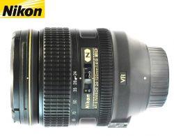 Lente Nikon AF-s 24-120mm F/4 ED VR N - Full Frame - FX e DX