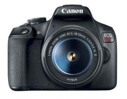 Câmera Canon EOS Rebel T7 c/ Lente 18-55mm IS BR