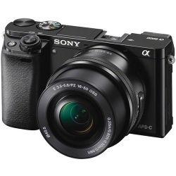 Câmera Sony A6000  c/ Lente 16-50mm 3.5-5.6 OSS