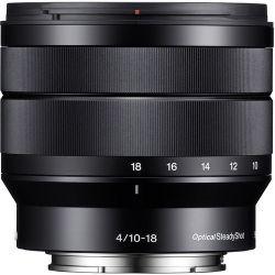 Lente Sony E 10-18mm 4.0 OSS