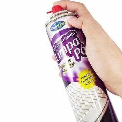 Ar Comprimido (Dust Off) de 400ml DomLine Pro