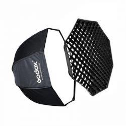 Softbox p/ Flash Montagem Bowens 95cm Diametro (Haze Octogonal)