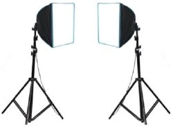 Softbox Greika kit Ágata II - 110v