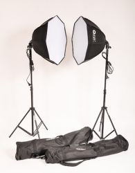 Softbox Greika Kit Agata III - 110 ou 220v