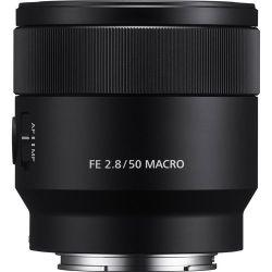 Lente Sony FE 50mm 2.8 Macro