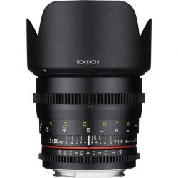 Lente Rokinon 50mm  T1.5 Cine DS  p/ Sony