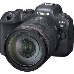 Câmera Canon EOS R6 c/ Lente 24-105mm f/4 L IS USM