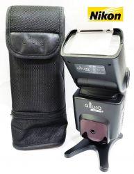 Flash p/ Nikon  marca Altura i-TTL  para Câmeras Nikon