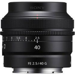 Lente Sony FE 40mm 2.5 G