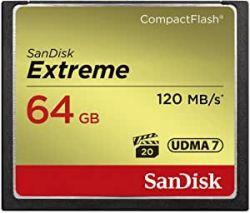 Cartão CF 64GB SanDisk Extreme