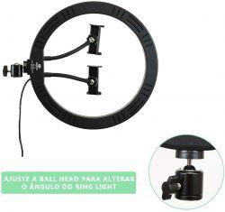Iluminador CL 12 Greika  de Led  Ring Light  12