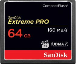 Cartão CF 64GB SanDisk Extreme Pro