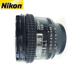 Lente Nikon AF 20mm F/2,8 Nikkor