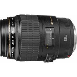 Lente Canon EF 100mm 2.8 Macro USM