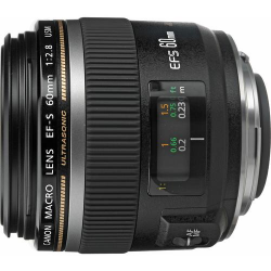 Lente Canon EF-s 60mm Macro 2.8 USM