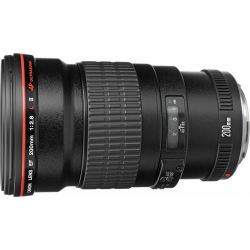 Lente Canon 200mm f/2.8L II USM